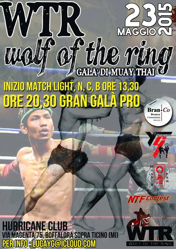 Wolf of the Ring - 23 maggio