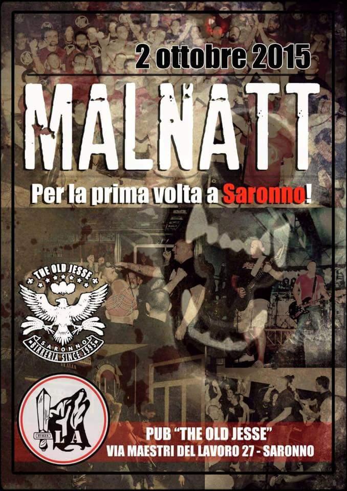 Malnatt a Saronno