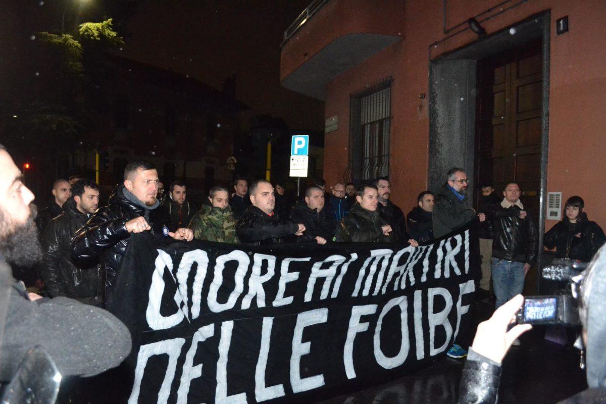 """Giorno del Ricordo 2018, Lealtà Azione: """"Onore ai Martiri delle Foibe"""""""