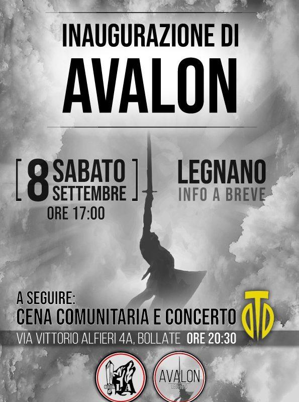 Inaugurazione di Avalon