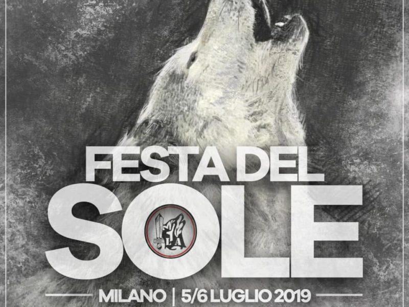 FESTA DEL SOLE 2019 | Milano