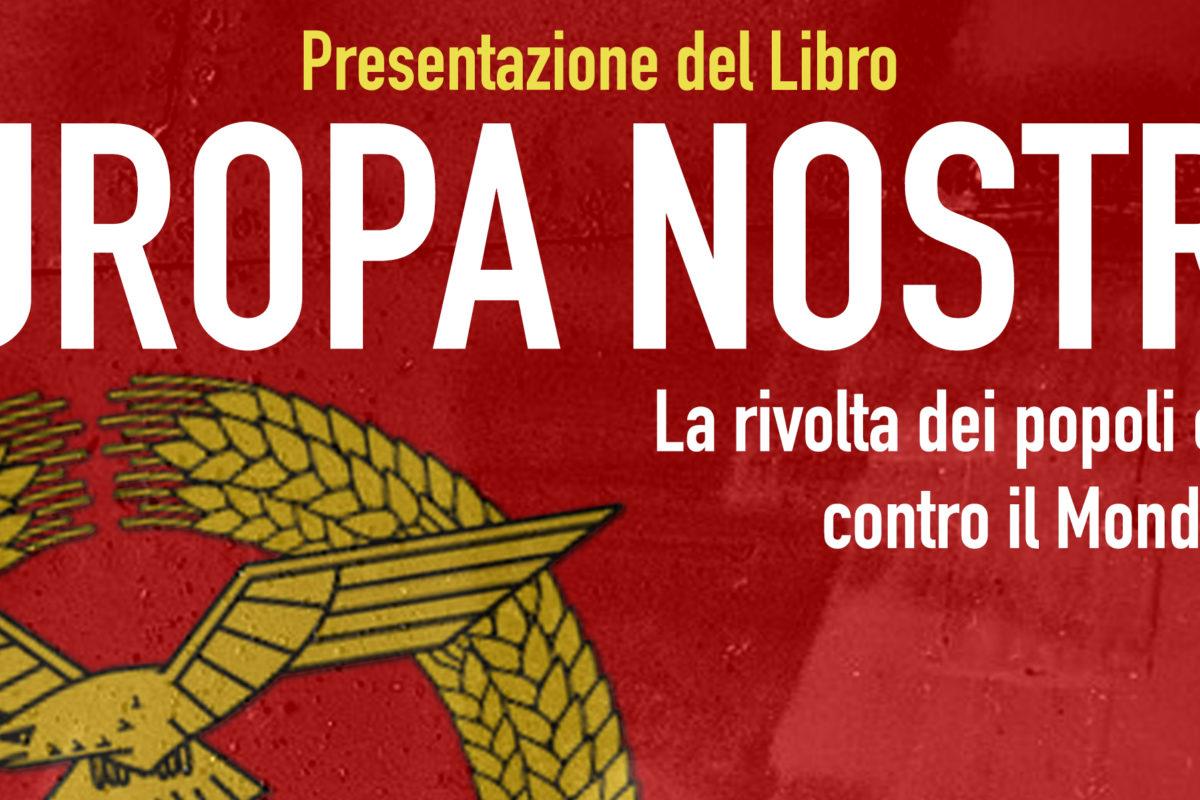 """""""Europa Nostra"""" il nuovo romanzo di Riccardo Tennenini a Firenze"""