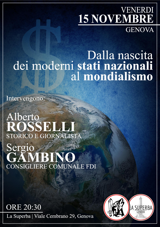 Alberto Rosselli Superba Genova
