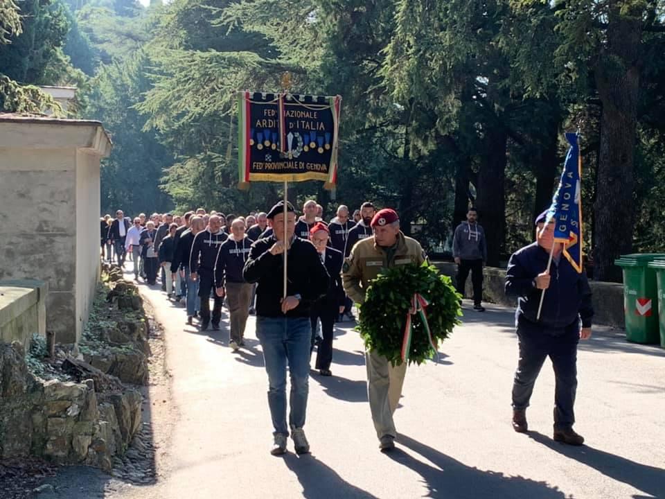 Genova commemora i Caduti della RSI a Staglieno