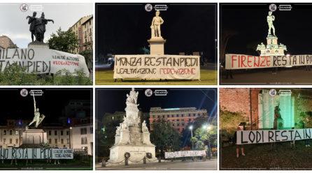 Le nostre città rimangono in piedi: flash mob in tutta Italia
