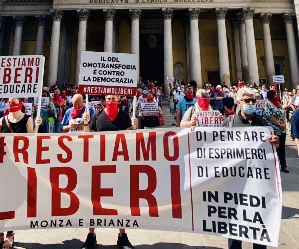 Lealtà Azione aderisce alle manifestazioni di #RestiamoLiberi
