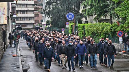 Milano, 29 Aprile 2021. Per Sergio 🌹